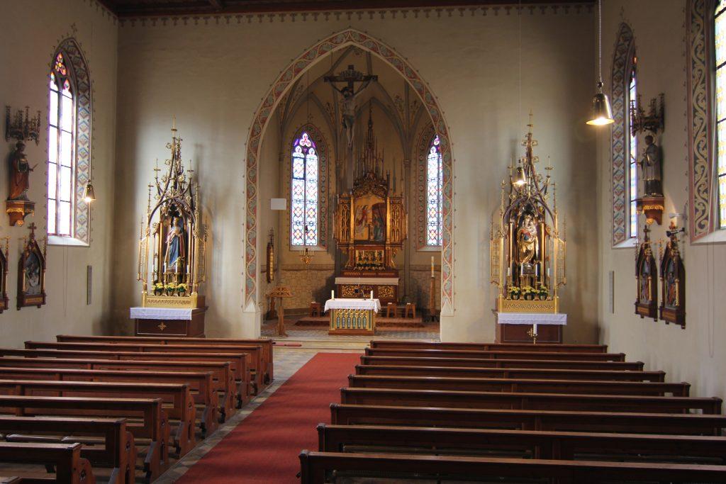 Innenansicht St. Katharina