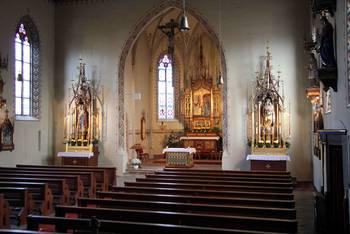 Innenraum St. Katharina in Landsberg am Lech