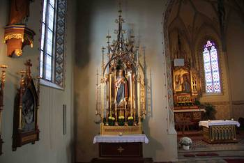Katharinenaltar in St. Katharina in Landsberg am Lech