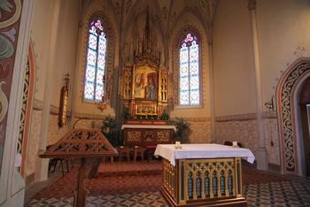 Altarraum St. Katharina in Landsberg am Lech