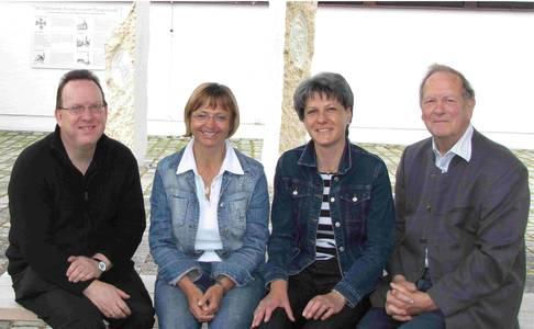 Die Besuchsdienstgruppe der Pfarrei Zu den Heiligen Engeln