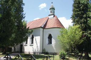 Außenansicht von St. Ulrich in Spötting