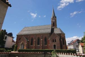 Außenansicht von St. Katharina